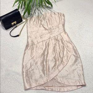 🔥🔥🔥3/$20 NWOT H& M cram strapless dress size 6